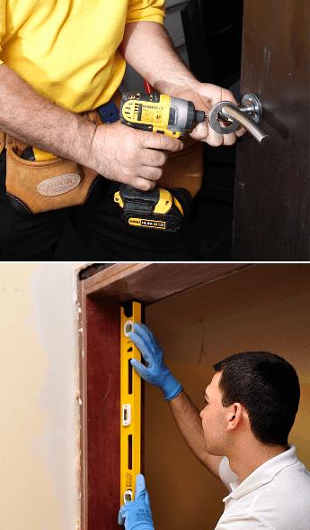 Fitting Door Handles