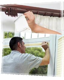 Curtains Fitting services Dubai