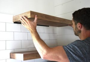 Shelves Installation