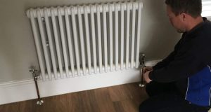 radiator valves replacement
